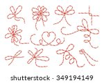 Gift Twine Bows Vector Set....