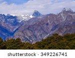 Small photo of Highest peak of Zanskar range Kamet from Auli Uttrakkhand