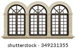 Mullioned Window With Stone...