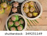 Chinese Steamed Dumpling And...