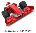 3d Render Of A Formula One...