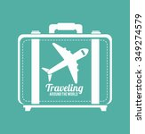 summer  travel and vacations... | Shutterstock .eps vector #349274579