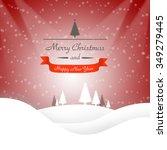 christmas background | Shutterstock . vector #349279445