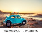 travel and adventure concept ... | Shutterstock . vector #349338125