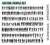 vector business people... | Shutterstock .eps vector #349360295