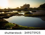 tanah lot temple on sea in bali ... | Shutterstock . vector #349375925
