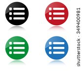 expand menu   color vector icon