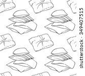 pillows seamless pattern. | Shutterstock .eps vector #349407515