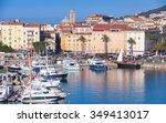Ajaccio Port Cityscape With...
