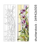 Sketch Of Stained Glass With...
