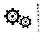 settings icon | Shutterstock .eps vector #349436057