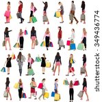 """collection """" back view of going ... 