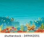 Underwater Seascape   Colorful...