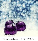Christmas. Christmas Purple...