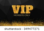gold vip background | Shutterstock .eps vector #349477271