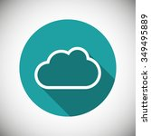 cloud  linear icon. one of a...