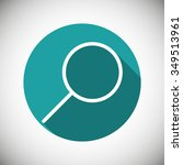 search  linear icon. one of a...