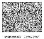 Stock vector floral decorative ornamental coloring page for art therapy 349526954