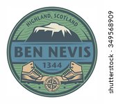 Stamp Or Emblem With Text Ben...