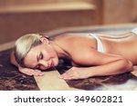 people  beauty  spa  healthy... | Shutterstock . vector #349602821