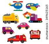 transportation vector. | Shutterstock .eps vector #349625165