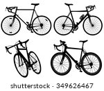 bicycle cycling bike set... | Shutterstock .eps vector #349626467