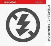 camera flash icon. professional ...