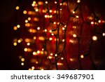 Christmas Lights Over Dark...