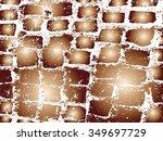 cobblestone paving texture in...   Shutterstock .eps vector #349697729