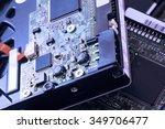sata and ata hard disk... | Shutterstock . vector #349706477