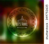 geometric mandala element made...   Shutterstock .eps vector #349752635