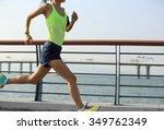 young fitness woman runner...   Shutterstock . vector #349762349