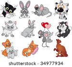cartoon_2 vector | Shutterstock .eps vector #34977934