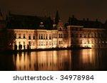 dutch parliament in the hague... | Shutterstock . vector #34978984