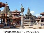 patan  nepal  october  09  2013 ... | Shutterstock . vector #349798571