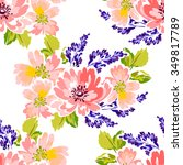 abstract elegance seamless...   Shutterstock .eps vector #349817789