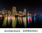 ferry building and embarcadero... | Shutterstock . vector #349842041
