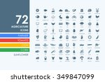 agriculture vector set of...   Shutterstock .eps vector #349847099