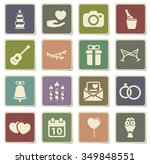 wedding label icons for web | Shutterstock .eps vector #349848551