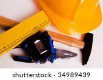 The complete set of tools - stock photo