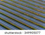 solar panels solar farm   Shutterstock . vector #349905077