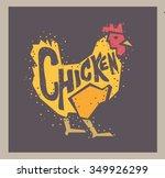 Vector Chicken Illustration...