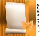 bow ribbon gift vector pattern... | Shutterstock .eps vector #349926749