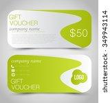 gift card voucher. business... | Shutterstock .eps vector #349943114