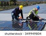 photovoltaic | Shutterstock . vector #349949804