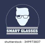 wearable technology concept... | Shutterstock .eps vector #349973837