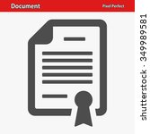 document icon. professional ...   Shutterstock .eps vector #349989581