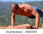 male bodybuilder | Shutterstock . vector #3500345