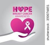 hope breast cancer awareness...   Shutterstock .eps vector #350076851