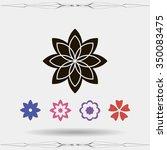 flower   Shutterstock .eps vector #350083475
